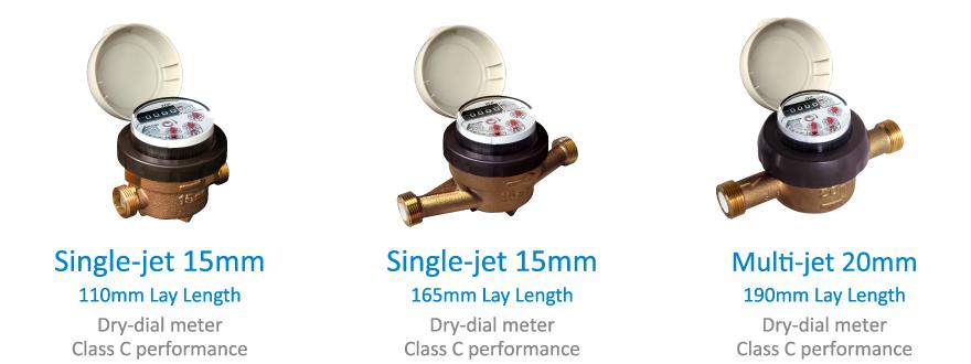 SD15S Đồng hồ nước dân dụng Aichi Tokei Denki Aichi Tokei Nhật Bản chính hãng mới 100% có COCQ
