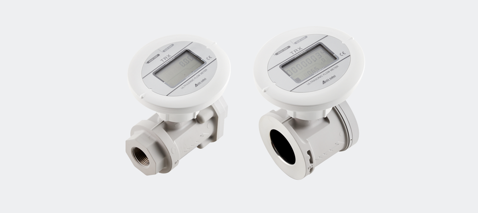 There is no pressure loss!|Ultrasonic Flow Meters For
