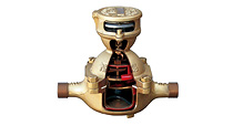 Disk-type water meter
