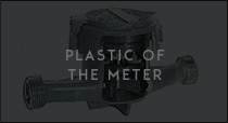 Plastic of the meter