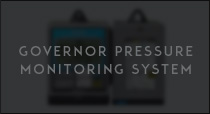 Governor pressure monitoring system